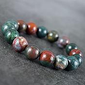 Украшения handmade. Livemaster - original item Bracelet natural stone moss agate. Handmade.