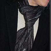 """Аксессуары ручной работы. Ярмарка Мастеров - ручная работа Мужской шарф """"След волка"""", войлок. Handmade."""