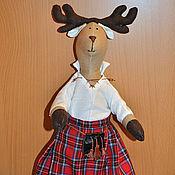 Куклы и игрушки ручной работы. Ярмарка Мастеров - ручная работа Благородный олень с острова Арран. Handmade.