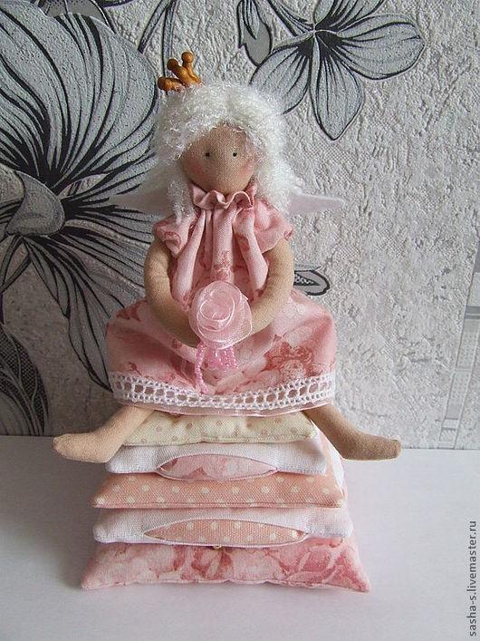 Куклы Тильды ручной работы. Ярмарка Мастеров - ручная работа. Купить Принцесса на горошине. Handmade. Интерьерная кукла, текстильная кукла