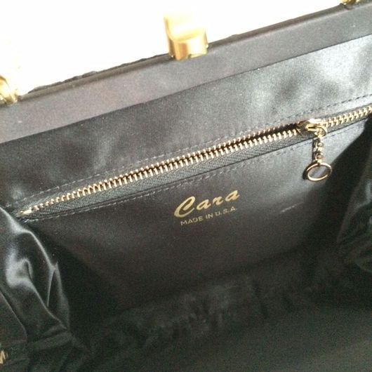 Винтажные сумки и кошельки. Ярмарка Мастеров - ручная работа. Купить Винтажная вечерняя сумочка Cara Made in USA. Handmade.