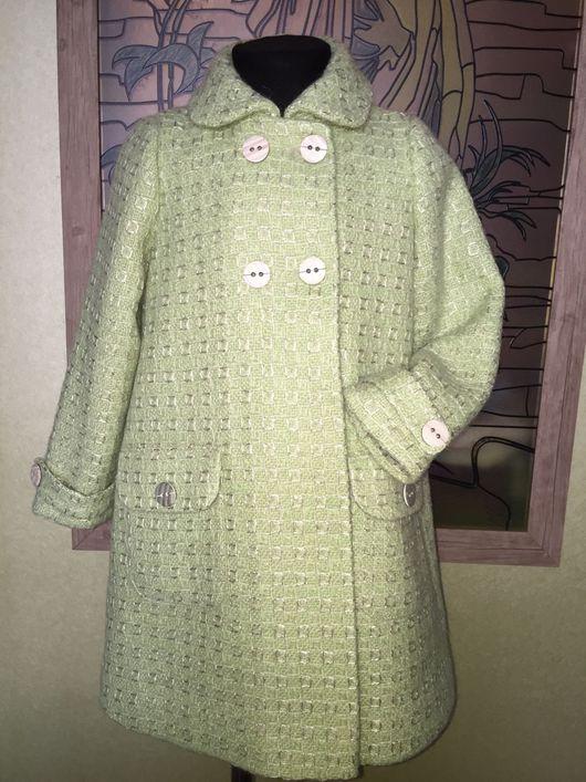 Одежда для девочек, ручной работы. Ярмарка Мастеров - ручная работа. Купить Пальто для Леди. Handmade. Пальто, в клеточку