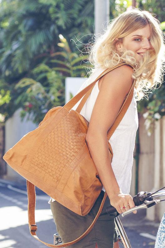 Женские сумки ручной работы. Ярмарка Мастеров - ручная работа. Купить Sand Storm+, стильная сумка из натуральной кожи. (5). Handmade.
