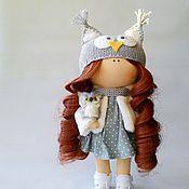 Подарки к праздникам ручной работы. Ярмарка Мастеров - ручная работа Кукла Совушка. Handmade.