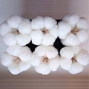 Материалы для творчества handmade. Livemaster - original item Cotton flowers bolls dried natural. Handmade.