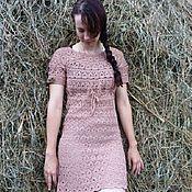 Одежда ручной работы. Ярмарка Мастеров - ручная работа Платье Вязанное. Handmade.