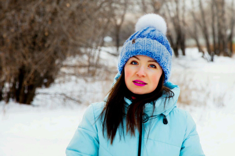 Knitted hat Pretty, Caps, Krasnoyarsk,  Фото №1