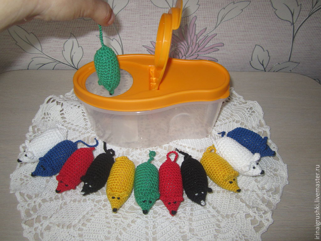 Мышки в норке, Мягкие игрушки, Барнаул,  Фото №1