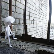 """Куклы и игрушки ручной работы. Ярмарка Мастеров - ручная работа Кукла """"Белый человечек"""". Handmade."""