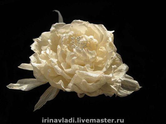 цветы из ткани, цветы из шелка, роза из ткани брошь, белая роза заколка, украшения из шелка. искусственные цветы, цветы ручной работы, шелковая белая роза,ободок с цветами, обруч для волос с цветком,
