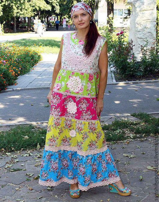 """Платья ручной работы. Ярмарка Мастеров - ручная работа. Купить Платье """"Яблоневый цвет"""". Handmade. Авторское платье, платье длинное"""