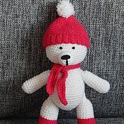 Куклы и игрушки ручной работы. Ярмарка Мастеров - ручная работа медвежонок Умка. Handmade.