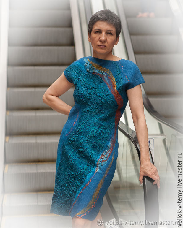 Felted sheath dress, Dresses, Obninsk,  Фото №1