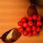 Рябиновые бусы - Ярмарка Мастеров - ручная работа, handmade