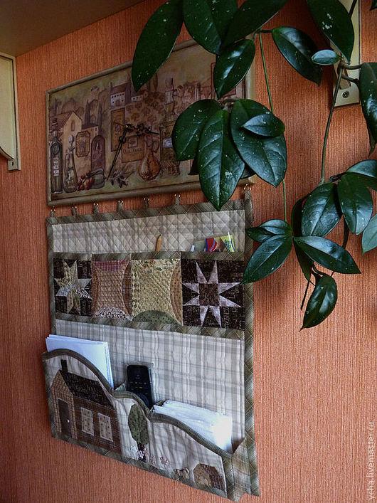 Кухня ручной работы. Ярмарка Мастеров - ручная работа. Купить Текстильное панно с часами. Handmade. Панно на кухню, часы для кухни