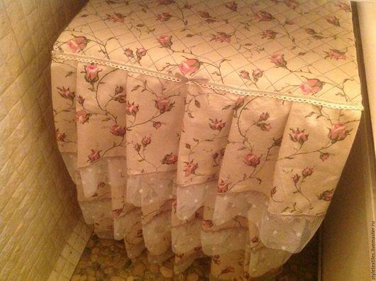 """Ванная комната ручной работы. Ярмарка Мастеров - ручная работа. Купить Чехол для стиральной машинки """"Возвращение в Прованс"""". Handmade. Комбинированный"""
