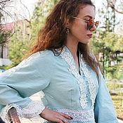 Одежда handmade. Livemaster - original item Boho tunic dress