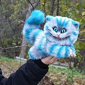 Мягкие игрушки ручной работы. Ярмарка Мастеров - ручная работа Чеширский котик. Handmade.