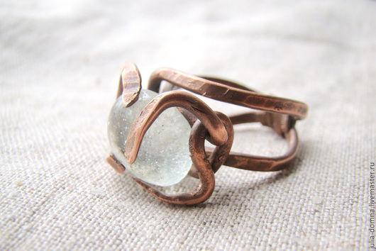 кольцо медное Дух Лесного Озера