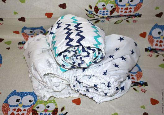 Детская ручной работы. Ярмарка Мастеров - ручная работа. Купить Детское постельное белье. Handmade. Комбинированный, наволочка, детская комната