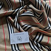 Материалы для творчества handmade. Livemaster - original item Burberry Silk. Handmade.