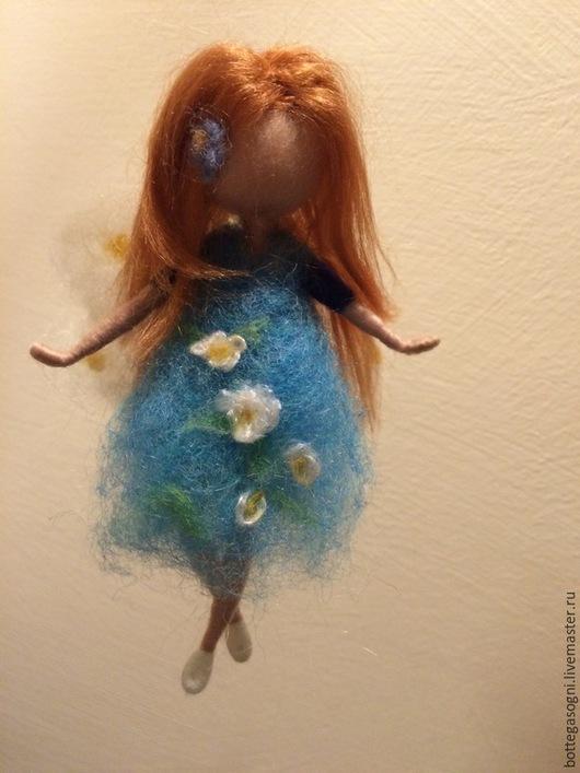 Вальдорфская игрушка ручной работы. Ярмарка Мастеров - ручная работа. Купить Валяние Маленькие феи. Handmade. Разноцветный, коллекционные куклы