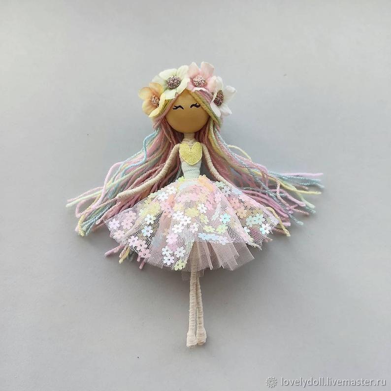 Dolls and dolls: Spring Baby Doll Play Toy Handmade, Dolls, Kiev,  Фото №1