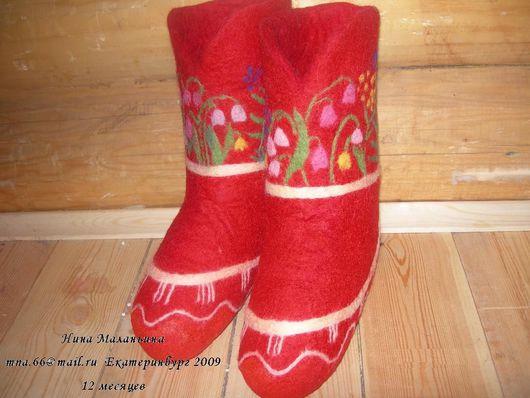 Обувь ручной работы. Ярмарка Мастеров - ручная работа. Купить 12 месяцев. Handmade. Пряжа