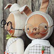 Куклы и игрушки ручной работы. Ярмарка Мастеров - ручная работа Зайчишки. Handmade.