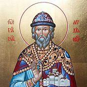 Картины и панно handmade. Livemaster - original item The Holy Prince Yaroslav the Wise. Handmade.