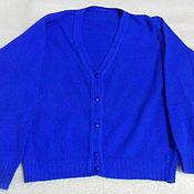 Винтаж handmade. Livemaster - original item Women`s cardigan,wool Angora,vintage Italy,size 52. Handmade.