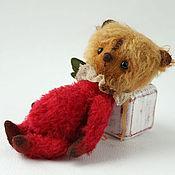 Куклы и игрушки ручной работы. Ярмарка Мастеров - ручная работа Мишка Тедди Земляничный пряничек. Handmade.