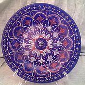 """Посуда ручной работы. Ярмарка Мастеров - ручная работа Тарелка """"Ажурное переплетение"""". Handmade."""