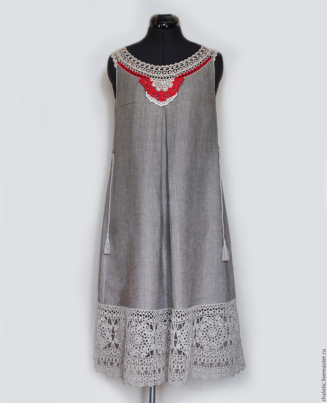 Сшить платье и сарафан из льна 72