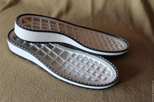 """Другие виды рукоделия ручной работы. Ярмарка Мастеров - ручная работа. Купить Подошва для обуви """"АСТРА 3 """" белая. Handmade."""