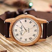 Украшения handmade. Livemaster - original item Wooden watches, women`s watches, beech, 03R3530BB. Handmade.