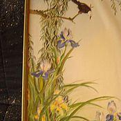 Картины и панно ручной работы. Ярмарка Мастеров - ручная работа Картина, батик. Handmade.