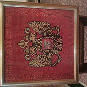 Для дома и интерьера ручной работы. Ярмарка Мастеров - ручная работа герб россии. Handmade.