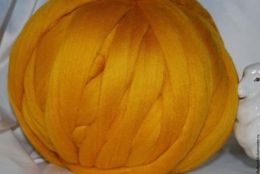 Австралийский топс меринос 18 мкм №201 желтый