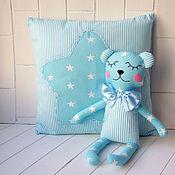Куклы и игрушки manualidades. Livemaster - hecho a mano El oso de peluche-splyushka komforter y el airbag para el recién nacido. Handmade.