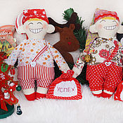 Куклы и игрушки handmade. Livemaster - original item 1550 roubles! DISCOUNT! Dwarfs charms, gift for the New year.. Handmade.