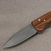 Сувениры и подарки handmade. Livemaster - original item Automatic switchblade knife NS7 cast Bulat (rosewood lining). Handmade.