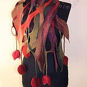 """Аксессуары ручной работы. Ярмарка Мастеров - ручная работа шарфик """"Монро"""". Handmade."""