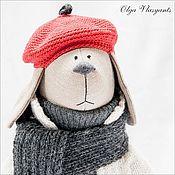 Куклы и игрушки ручной работы. Ярмарка Мастеров - ручная работа Собака с маками   Продана. Handmade.
