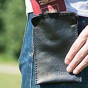 Сумки и аксессуары handmade. Livemaster - original item Comfortable leather waist bag. Handmade.