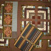 """Для дома и интерьера ручной работы. Ярмарка Мастеров - ручная работа """"Старая Африка"""" (лоскутный комплект). Handmade."""