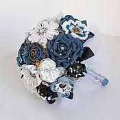 Свадебный салон ручной работы. Ярмарка Мастеров - ручная работа Джинсовый букет невесты джинсовая свадьба. Handmade.