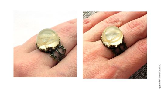 """Кольца ручной работы. Ярмарка Мастеров - ручная работа. Купить Кольцо """"Витки времени"""" ювелирная смола. Handmade. Подарок женщине"""