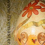 """Подарки к праздникам ручной работы. Ярмарка Мастеров - ручная работа """"Весёлые цыплята"""". Handmade."""