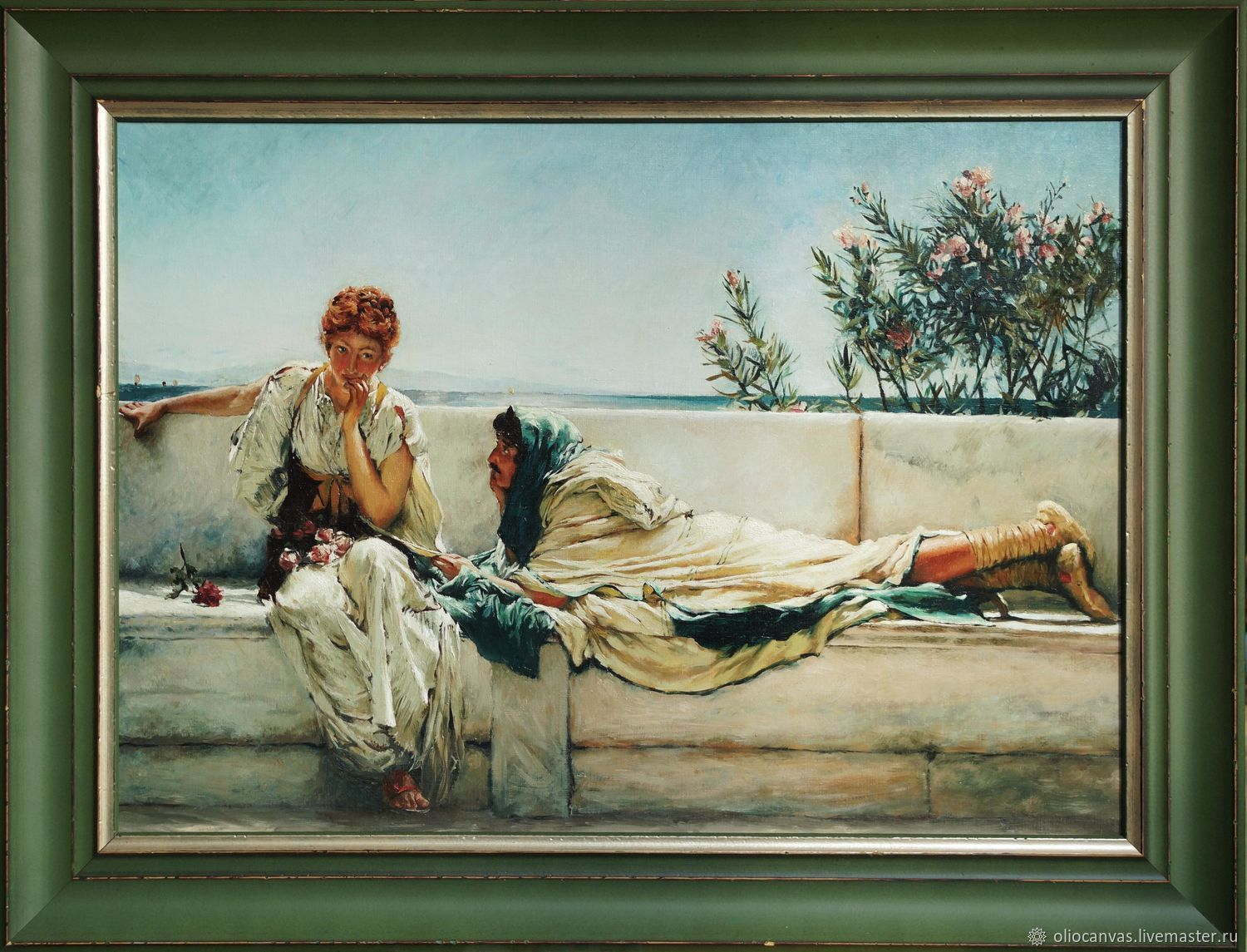 Oil painting 'Plea' Sir Lawrence Alma-Tadema 70h50cm, Pictures, St. Petersburg,  Фото №1